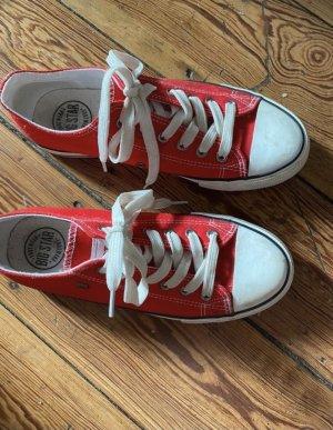 Big Star Zapatos de patinador rojo-blanco
