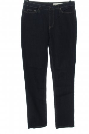 Big Star Straight-Leg Jeans blau Streifenmuster Casual-Look