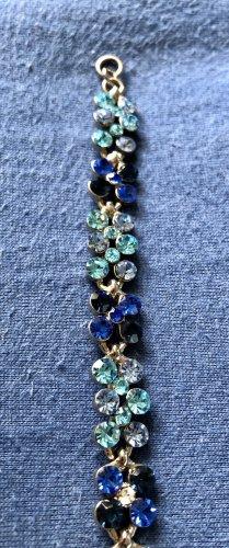 Bijou Brigitte Armband Armschmuck blau türkis Steine NEU - Versandkostenfrei