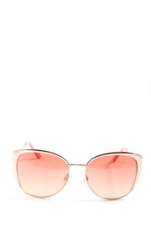 Bijou Brigitte Gafas mariposa rosa look casual