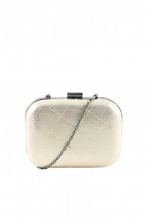 Bijou Brigitte Clutch cream-silver-colored elegant