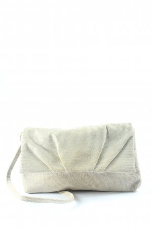 Bijou Brigitte Clutch wollweiß Casual-Look