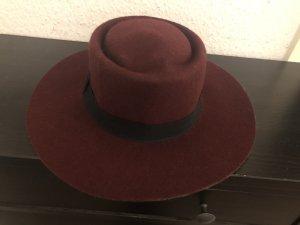 Bijou Brigitte Woolen Hat bordeaux