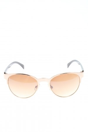 Bijou Brigitte Square Glasses pink-black casual look