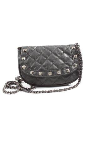 Bijou Brigitte Mini Bag black quilting pattern casual look