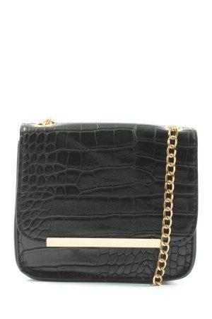 Bijou Brigitte Mini Bag black animal pattern elegant