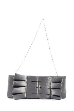Bijoux Terner Borsa clutch grigio chiaro stile casual