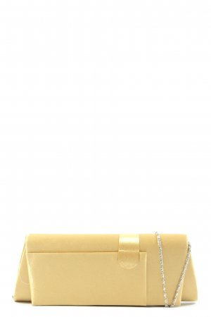 Bijoux Terner Borsa clutch bianco sporco stile casual