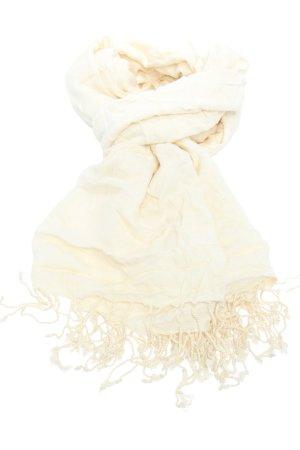 Bijoux Terner Fringed Scarf natural white elegant