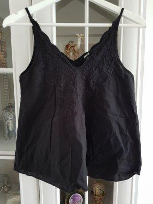 Bik Bok Mouwloze blouse zwart