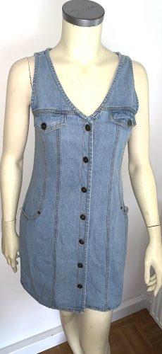 Bik Bok Jeansowa sukienka stalowy niebieski-chabrowy