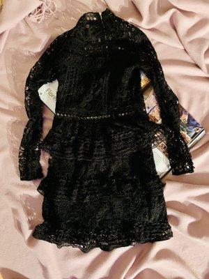 Bik Bok A-lijn jurk zwart