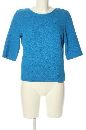 Bik Bok Kurzarm-Bluse blau Casual-Look
