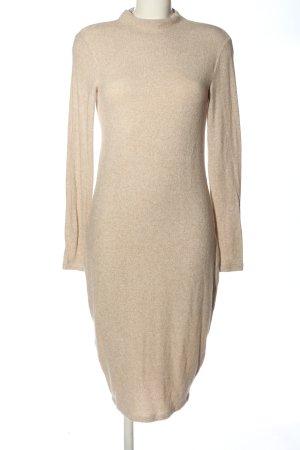 Bik Bok Longsleeve Dress nude elegant