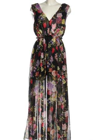 Bik Bok Maxi Dress flower pattern elegant