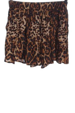 Bik Bok Spódnica mini Wzór w lwa W stylu casual