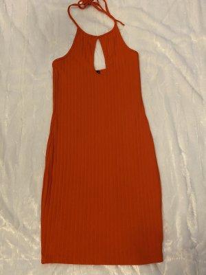 Bik Bok Mini Abito rosso chiaro-arancione