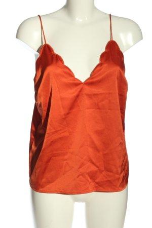 Bik Bok Top con bretelline rosso stile casual