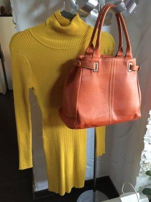Bikbok Abito di maglia giallo-arancione