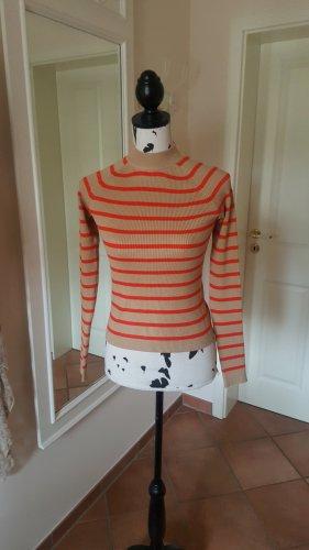 Bik Bok Sweater beige-donker oranje