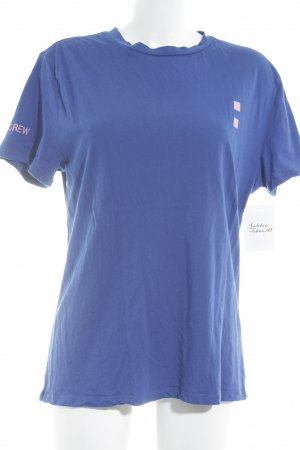 Bik Bok T-Shirt blau-rosa Motivdruck Street-Fashion-Look