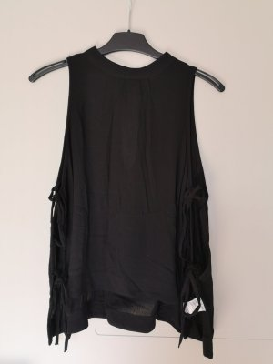 Bik Bok top Oberteil Shirt schwarz neu XS S M