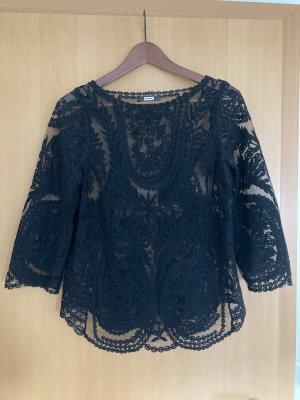 Bikbok Transparante blouse zwart