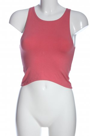 Bikbok Top corto rosa stile casual