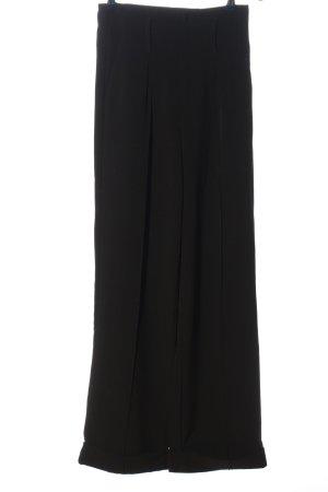 Bikbok Hoge taille broek zwart casual uitstraling