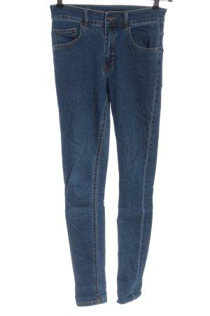 Bikbok Hoge taille jeans blauw casual uitstraling