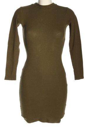 Bikbok Mini-jurk khaki casual uitstraling