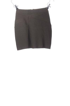 Bikbok Mini rok lichtgrijs zakelijke stijl
