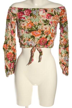 Bikbok Slip-over blouse volledige print casual uitstraling