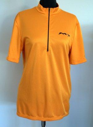 Sportshirt oranje-zwart Polyester