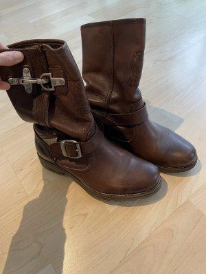 Red Adair Krótkie buty brązowy-ciemnobrązowy