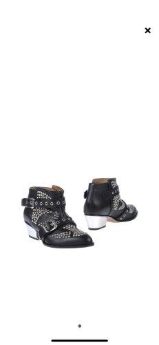 les petites collection Low boot noir cuir