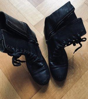 Steve Madden Biker Boots black