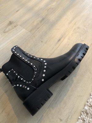 Zara Chelsea laarzen zwart