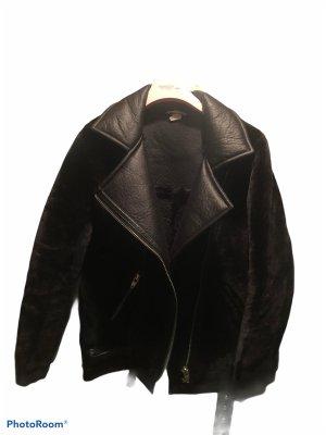 H&M Veste motard noir
