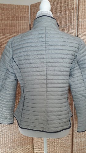 aus Italien Giacca corta grigio chiaro