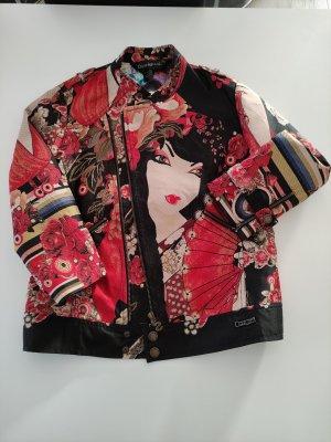 Biker-Jacke / Blazer / extravagante Jacke von Desigual mit Geisha im asiatischen Stil