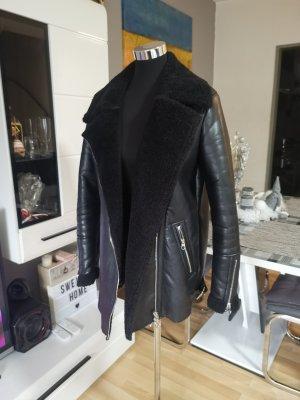 Biker Jacke von Bershka, Lange Jacke, Schwarze Jacke, Must Have