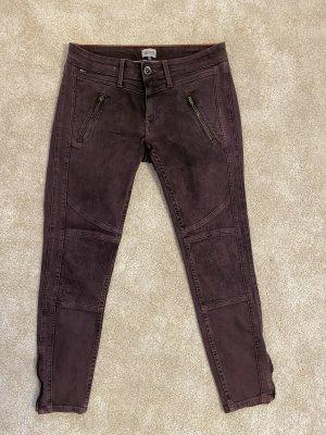 Hilfiger Denim Jeans a 7/8 rosso mora-marrone-viola