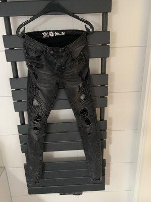 Biker Jeans von AIKI KEYLOOK