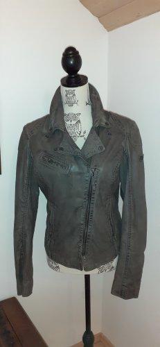 Gipsy Leather Jacket khaki