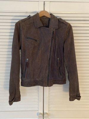 Kookai Biker Jacket multicolored leather