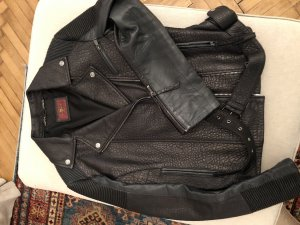 Biker Lederjacke von 7 for all mankind