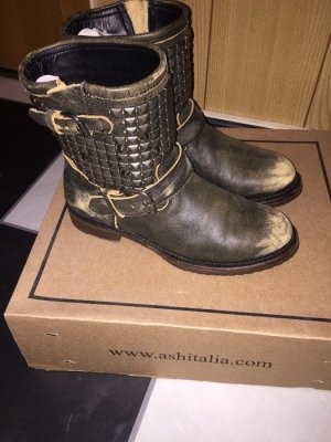 ASH Low boot multicolore cuir