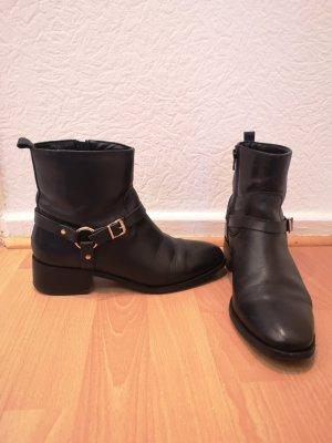 Carvela Ankle Boots black-gold-colored