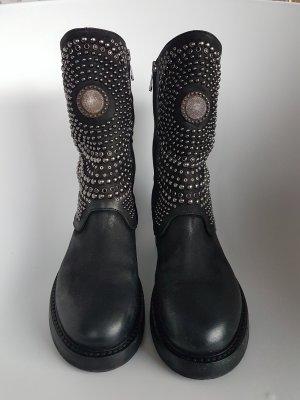 Elena Lachi Biker Boots black
